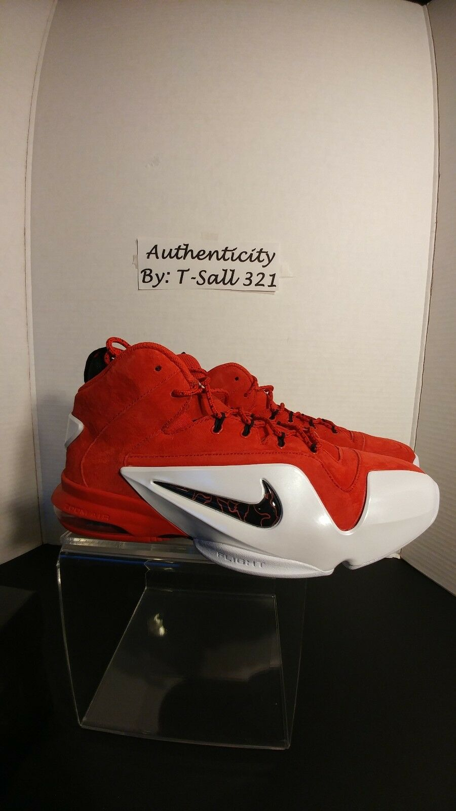 DS Zoom Penny IV (red) US Men's size 9.5