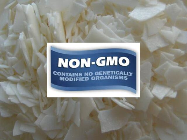 4 KG NON-GMO Natural C-3 Soy Wax Flakes for container/Tealight candle making