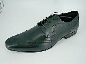 Jasper-Conran-JC-Scandium-Derby-Brogue-Shoe-039-s-black-Size-UK-12-EU-46-NH13-74