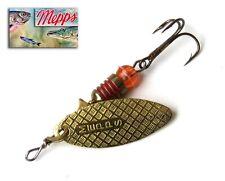Fishing spoon Mepps Aglia long Gold size1  90 mm 12 grs Trout Walleye Bass