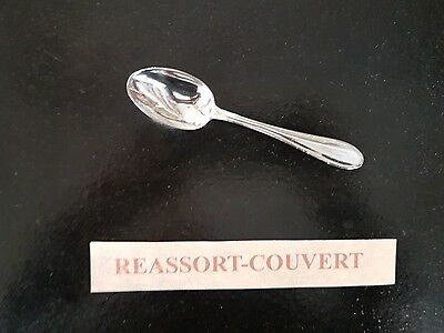 Small Spoon Cafe Sfam Empire 5 1/2in Silvered Metal 0703 17 Cleaning The Oral Cavity. Other Antique Decorative Arts Antiques