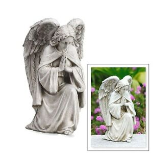 Angel-Praying-Garden-Statue-Memorial-Gift-Grave-or-Home-Guardian-Angel-12-T