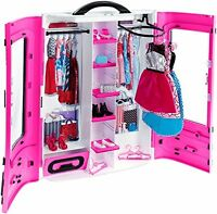Barbie Fab Closet Birthday Gift Toys For Kids Child Best Toy