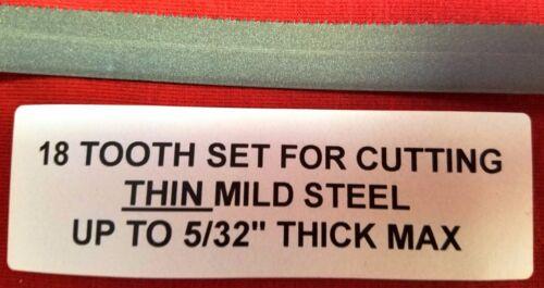 "4PAKS OF3 Milwaukee 48-39-0572  27/""x1//2 18T Sub-Compact Band Saw Blade 12 LOT"