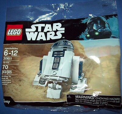 R2-D2 LEGO STAR WARS 30611 RARE! POLYBAG! BRAND NEW SEALED Promo