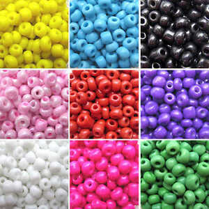 New Bulk 400Pcs 4mm Czech Round Glass Seed Spacer Beads Diy Jewelry Making