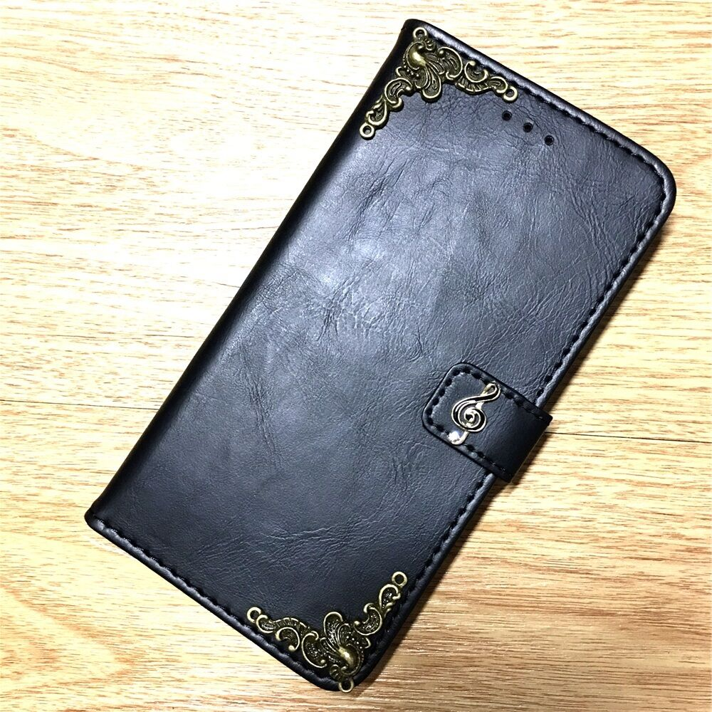 Details about Music Note Wallet PU Leather Handmade Stand Case For Samsung  Galaxy Cell Phone