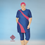 AlHamra-AL3049-Semi-Cover-Burkini-Modest-Women-Swimsuit-Muslim-Plus-Size-3XL-6XL thumbnail 5