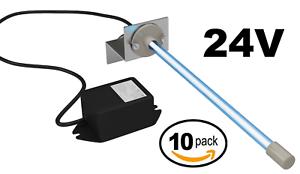 "Air Purifier UV Light For Coil HVAC AC 120V Plug In 14/"" Germicidal Bulb"
