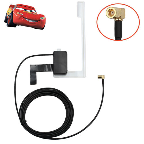 Car Window Mount DAB Digital Radio Aerial Antenna Cable SMB For Pioneer AN-DAB1