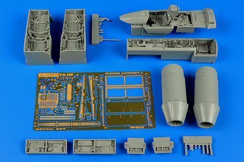 Aires 1 48 Boeing F A-18e Super Hornet Set Dettagli per Hasegawa