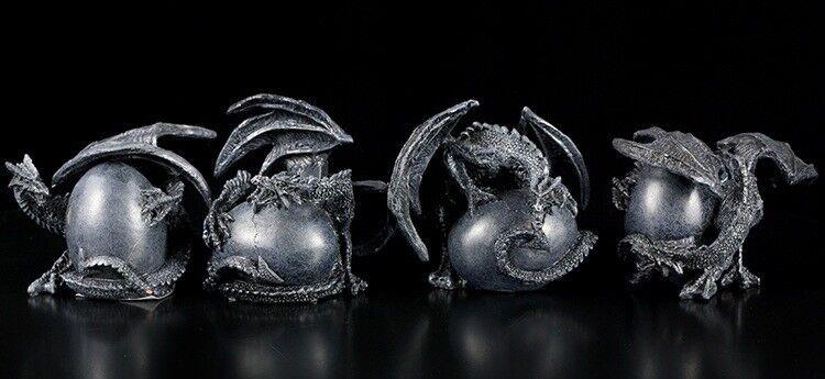Dragones Protector de la Huevos - Juego Juego Juego de 4 - Decoración De Fantasía Lindo  tienda de pescado para la venta