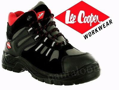WF24- New Mens Steel Toe Cap Tough Safety Trainer Work Shoes BY LEE COOPER