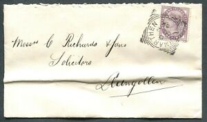 GREAT-BRITAIN-SQUARED-CIRCLE-CANCEL-034-CARMARTHEN-034-ON-COVER