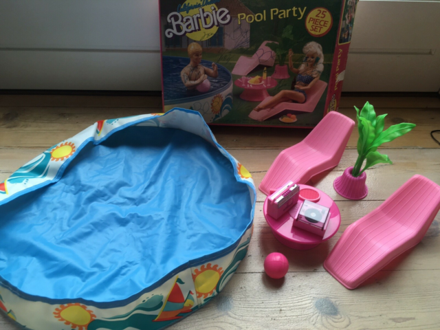 Barbie, Vintage California  Dream Pool Party , Arco Toys,…