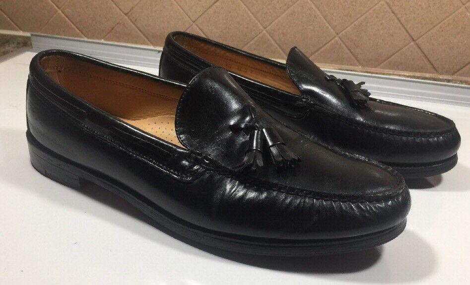 6) Frye flecos para Mocasín Zapatos Negro para flecos Hombre M 85ffd8