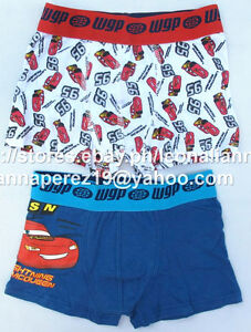 74-OFF-LICENSED-DISNEY-CARS-MC-QUEEN-2PK-BOXER-SHORTS-2-3-YRS-BNEW-DKK-79-95