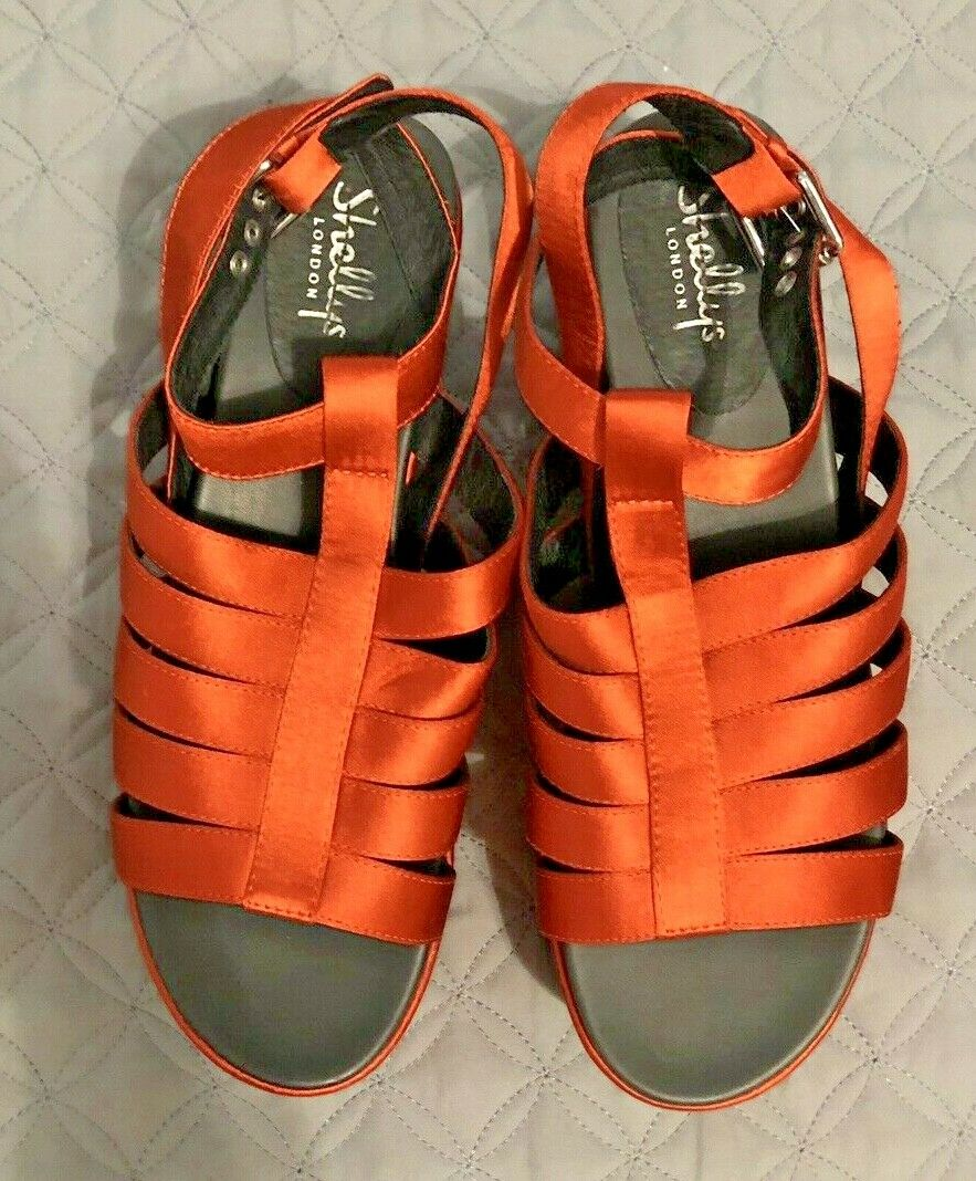 sconto Free Free Free People Lola Platform Wedge Sandals By Shellys London Sz 9   40 EUR  rivenditori online