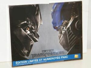 Coffret Prestige Transformers FNAC (Inclus le 1, 2, 3) Blu-Ray Édition Collector