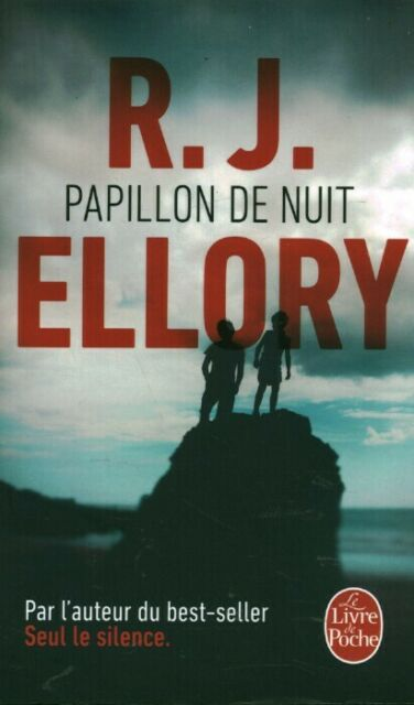 Livre Poche papillon de nuit R. J. Ellory 2017 éditions Sonatine book