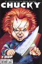 Chucky 4 B 1st Series Devils Due DDP 2007 VF Emily Stone Variant Horror Doll