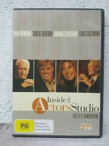 Inside-the-Actors-Studio-DVD-Paul-Newman-Robert-Redford-Barbra-Streisand-RARE