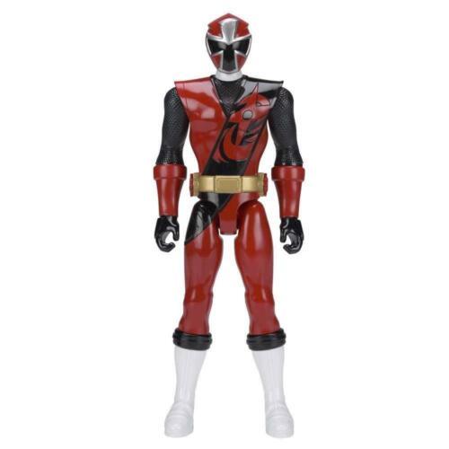 Power Rangers 43621 Ninja Steel 30cm 12 Inch Red Ranger Titan Figure