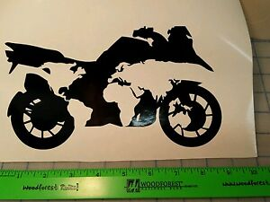 Bmw Motorcycle One World Decal Ebay