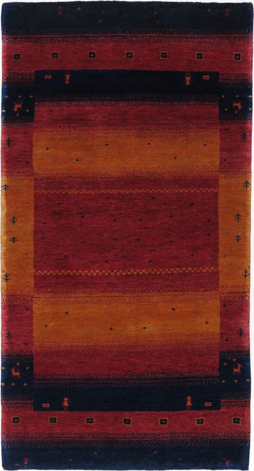 Gabbeh Tappeto Rug Carpet parte di Tapis tapijt Tappeto Alfombra Orient Persiani tipo Nomad