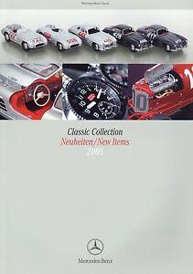 Charmant Mercedes Classic Collection Catalogue 2005 Nouveautés Modèle Voitures Montres Fashion-afficher Le Titre D'origine