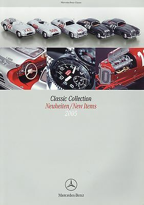 Colto Mercedes Classic Collection Catalogo 2005 Novità Modellini Di Auto Orologi Fashion-mostra Il Titolo Originale