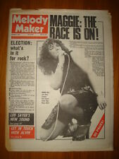 MELODY MAKER 1974 OCT 5 MAGGIE BELL LEO SAYER STARDUST