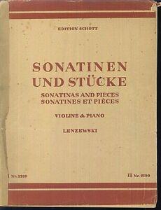 Lenzewski-Sonatinen-und-Stuecke-Violine-und-Piano-Band-1
