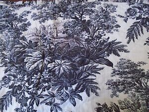 New Pottery Barn Matine French Toile Black Off White Twin