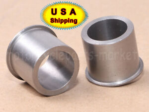 of Wheel Axle Bearing I.D Set 2 Adapter Reducer 25mm to 3//4 for Harley