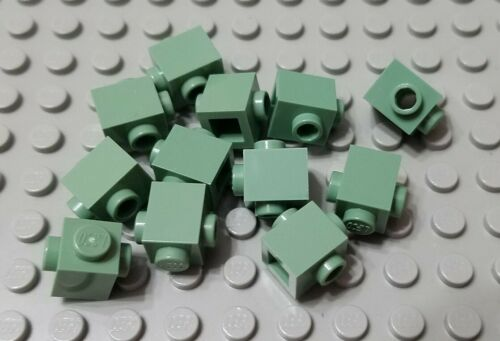 LEGO New Lot of 12 Sand Green Modular Star Wars 1x1 Bricks with 2 Side Studs