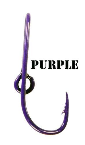Personnalisé Violet Coloré Eagle Claw Hameçon Hat Pin Violet Poisson Crochet Pince à cravate
