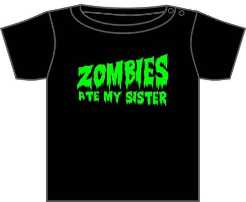 Diseños 0-6 Años Nuevo Walking Dead Zombie Camiseta Zombies Ate Mi Papá mucha Variedad