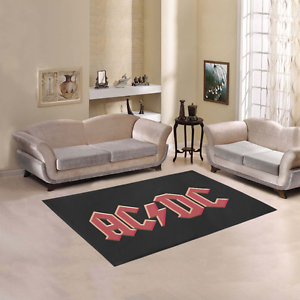 Image Is Loading New Personalized Mat Rugs Custom Acdc Logo Area