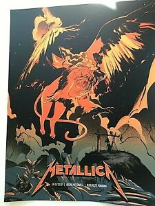 Details about 🔥 Metallica Bucharest Romania VIP ONLY LTD Print Poster  #03/75 AUGUST 14th 2019
