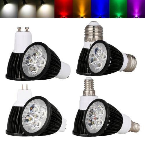 Dimmable LED SpotLight Bulbs E27 GU10 MR16 E14 GU5.3 9W 12W 15W Lamp 220V 12V SS