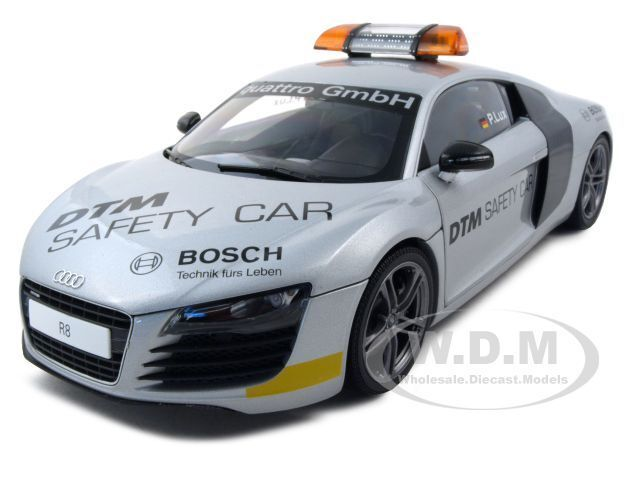 Audi R8 Dtm Safety Car 2008 1 18 Diecast Model Car By Kyosho 09214