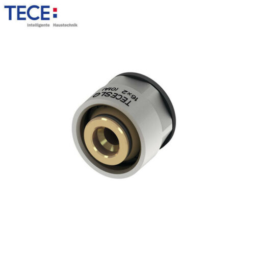 TECEfloor SLQ Klemmringverschraubung 16x2 mm 3//4/'/' Eurokonus für PE-Xc-Rohre