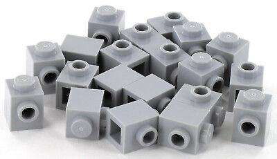 20 Stück LEGO Stein Konverter mit Noppe sandgrün 1x1 NEU 87087