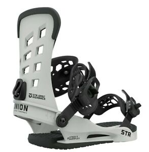 Union-STR-Snowboard-Bindings-Mens-Large-US-10-5-Stone-New-2021