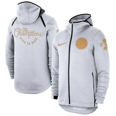 best service d2146 7b836 GOLDEN STATE WARRIORS Nike 2018 NBA Champions Showtime Hoodie Mens X-Large  XL 666003746002   eBay