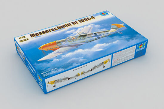 Trumpeter 02289 German BF109E-4 Warcraft Warplane Aircraft Plane 1 32 Model