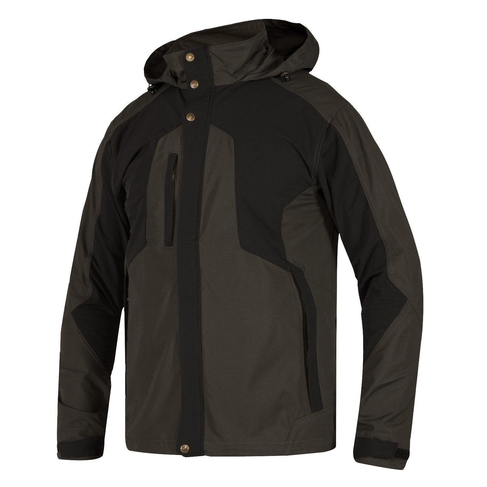 Deerhunter Strike Jacket 985 Tinta Negra Para Hombre Chaqueta caza tiro ligero