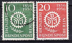 Bien Berlin 1956 Mi Nº 138-139 Estampillé Luxe!!!-afficher Le Titre D'origine Les Produits Sont Vendus Sans Limitations