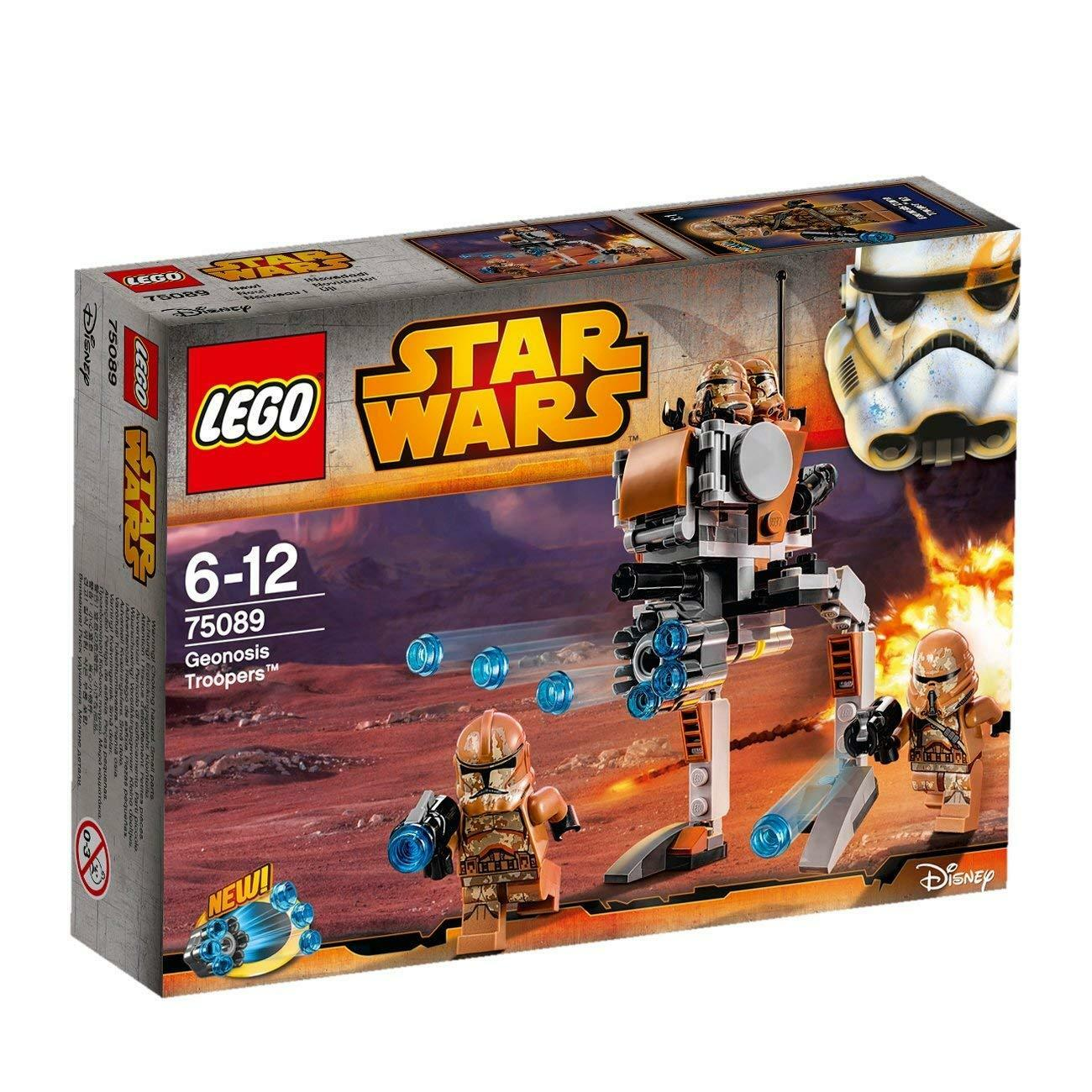 LEGO STAR WARS 75089 GEONOSIS TROOPERS NEUF NEW